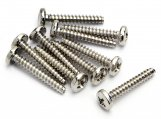 #Z570 TP. BINDER HEAD SCREW M3x18mm (10pcs)