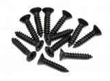 #Z579 TP. FLAT HEAD SCREW M3x15mm (12pcs)