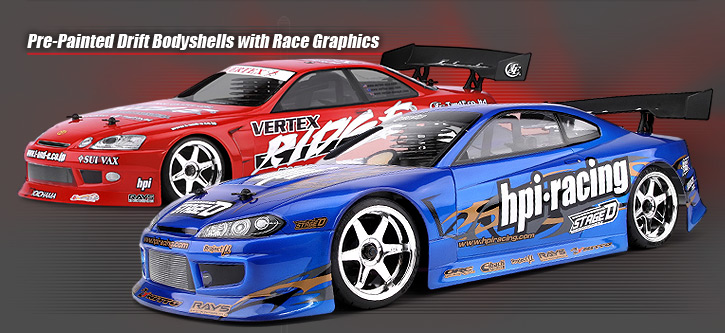 Exceptionnel #10073 RTR NITRO RS4 3 DRIFT WITH NISSAN SILVIA BODY