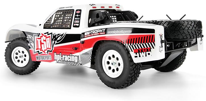 103035 MINI-TROPHY RTR 4WD DESERT TRUCK WITH DT-1 TRUCK BODY