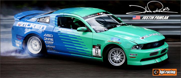 Rtr Drift Falken Mustang Gt Rtr