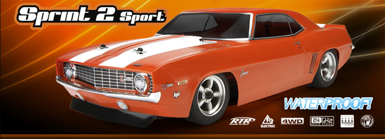 RTR Sprint 2 Sport w/ 1969 Chevrolet Camaro