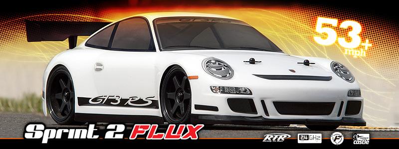 RTR Sprint 2 Flux w/ Porsche 911 GT3 RS