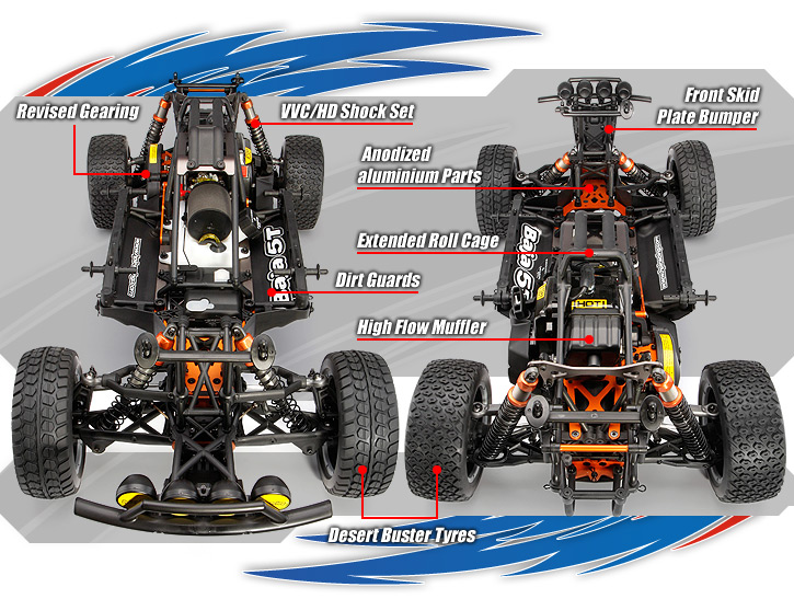 Genuine HPi Racing R//C Parts! Chassis Components HPI BAJA 5B SS