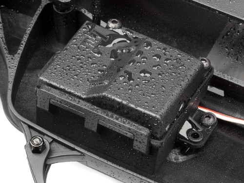 Waterproof receiver box