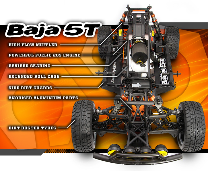 110185 baja 5t  hpi baja 5t parts diagram #4