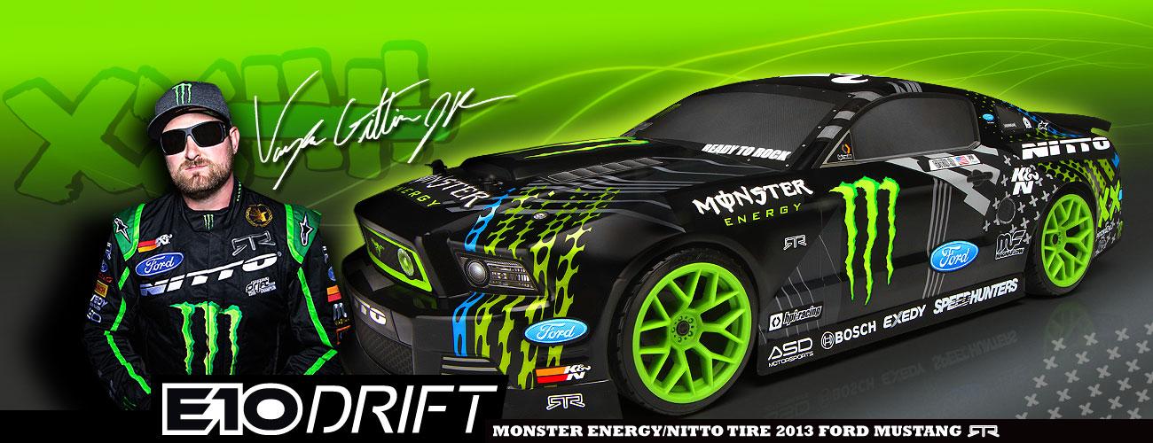 Hpi Drift Rtr Monster Energy Ford Mustang Gtr Rc Hobbies