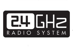 2.4GHz Sistema de Rádio