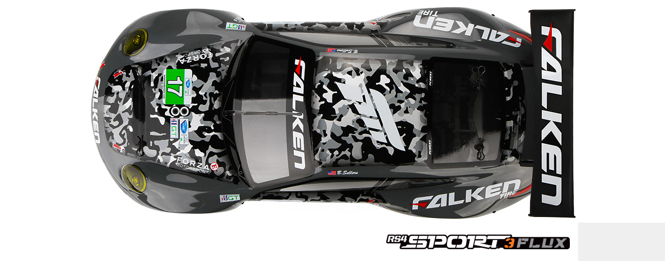Rs4 Sport 3 Flux Rtr With Falken Porsche 911 Gt3 R 114350 Hpi Racing Uk