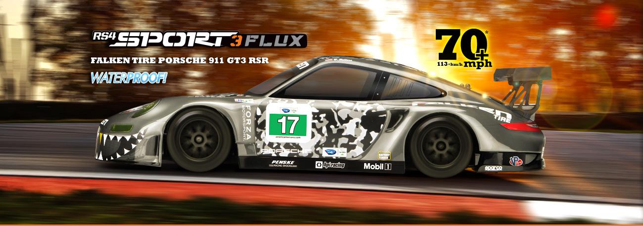 RS4 SPORT 3 FLUX RTR WITH FALKEN PORSCHE 911 GT3 R (#114350) | HPI on porsche 962 road car, 2014 gt3 race cars, porsche wallpapers high resolution,