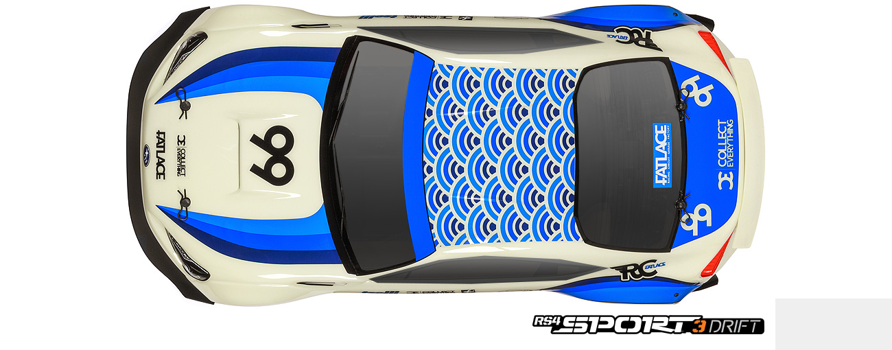 Hpi Rs4 Sport 3 Drift Rtr With Subaru Brz Body 1 10 Scale On Road
