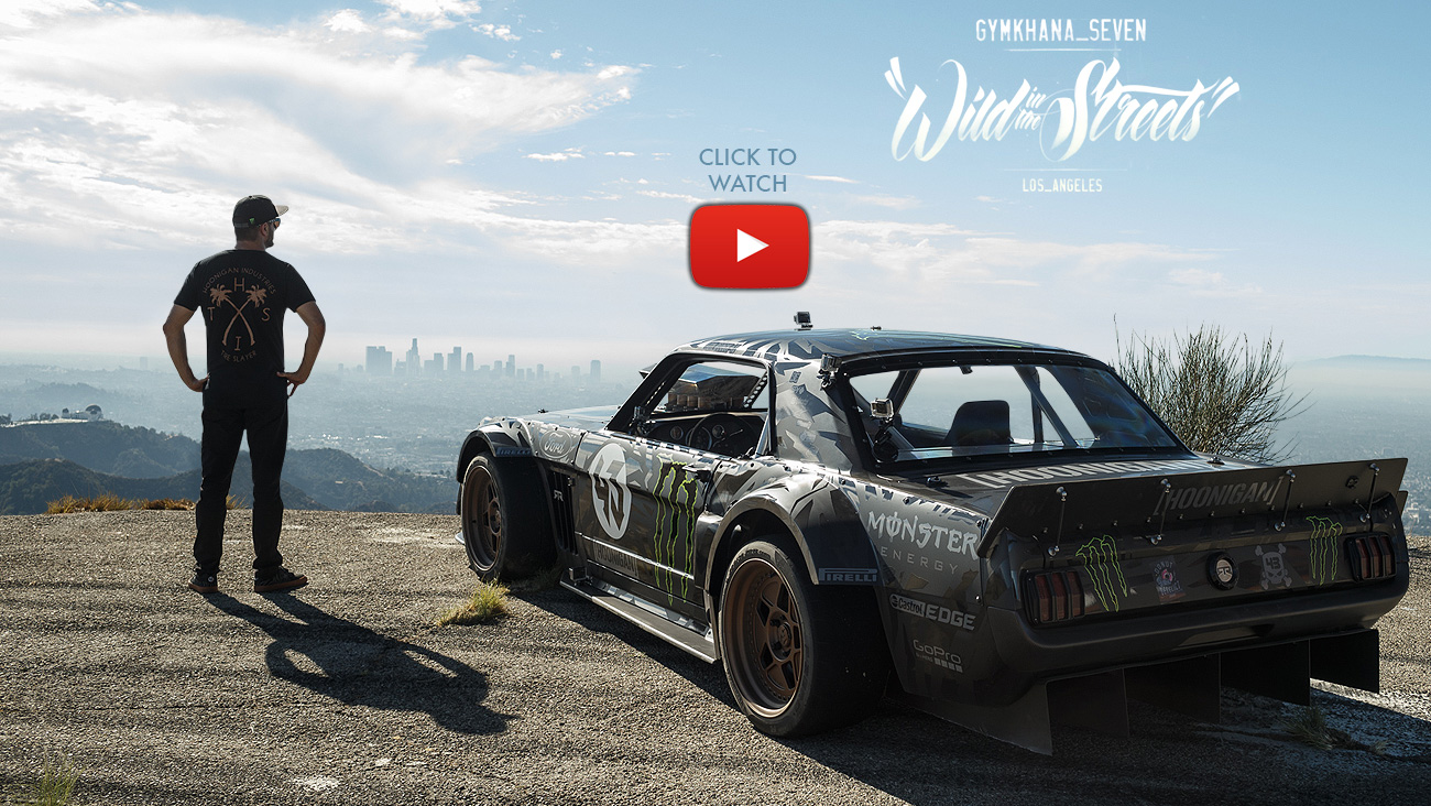 Their ken block special r43 wheels to complete the hoonicorns look and each wheel is wrapped in a scale replica extra wide semi slick rubber tires