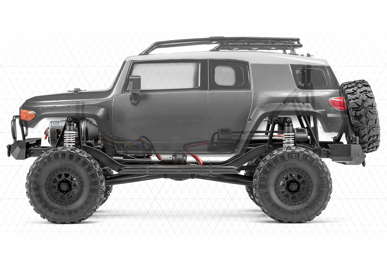 Scale Chassis Design and Layout. The Venture FJ Cruiser ...