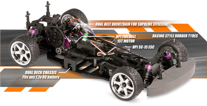 718 Rtr Sprint 2 Sport W Toureza Body