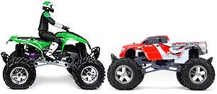 856 Savage ATV Kawasaki KFX700