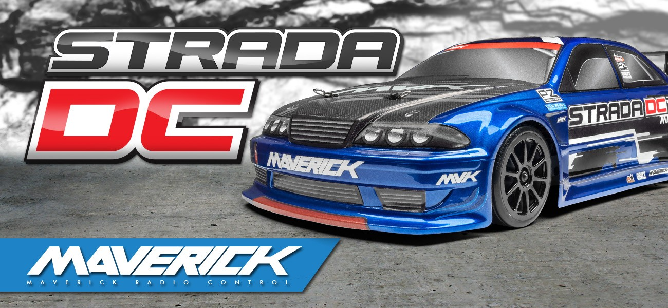 Maverick Strada Dc 1 10 Rtr Electric Drift Car Mv12618 Hpi Racing Uk