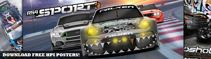 Free Downloads for Your Favorite HPI Kit!