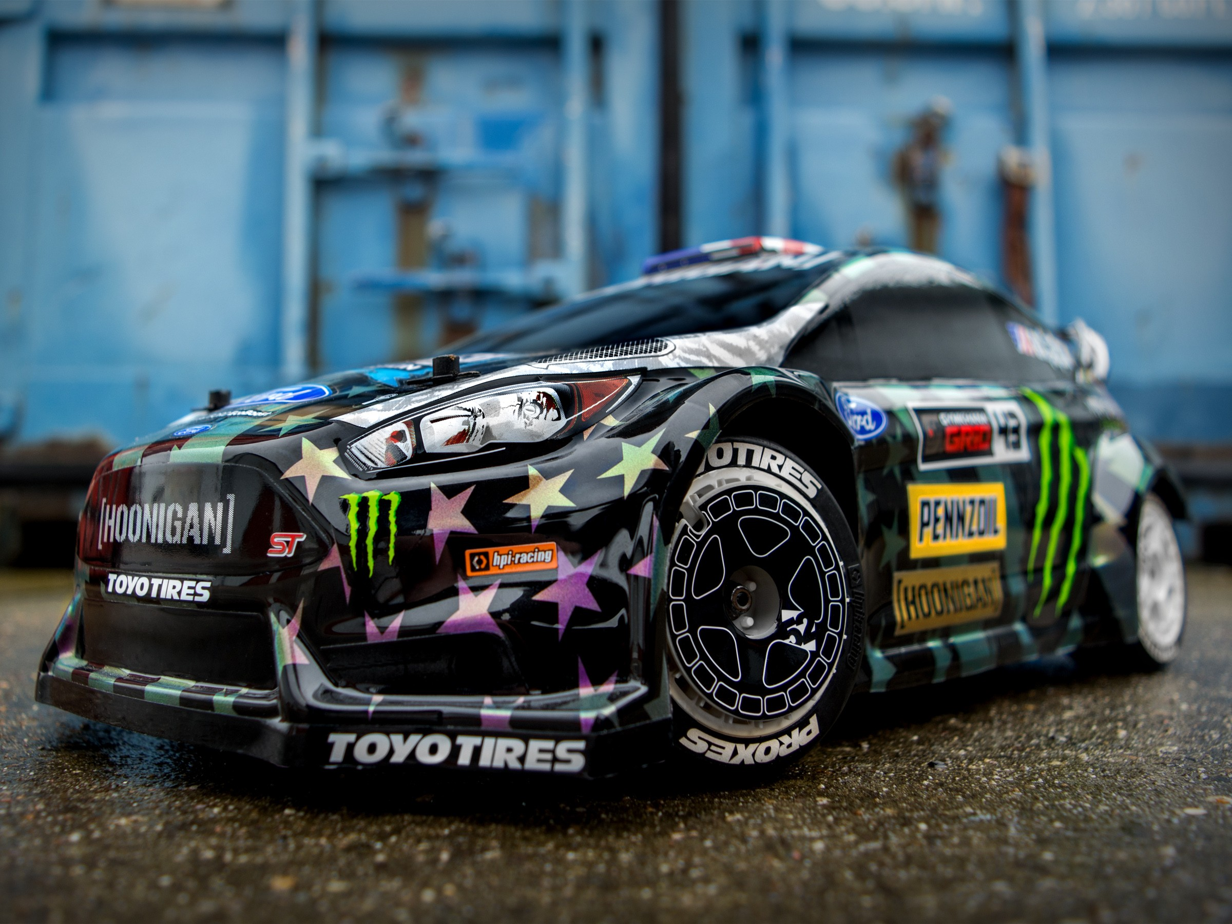 Ken block continues to pump out the hits and his latest ford fiesta st rx43 performance car is available now on both flux and nitro version of the amazing