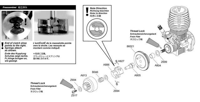 Rush Evo Flywheel HPI Racing – Diagram Of An Rc Nitro Engine