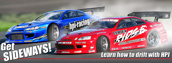 Get Sideways! Learn to Drift with HPI