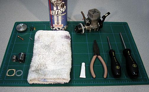 How To Rebuild A Nitro Engine - HPI Racing