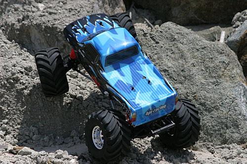 Wheely King - Rock Crawler Conversion Phase 1 - HPI Racing